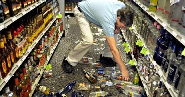 Если ты разбил товар в магазине, делай так