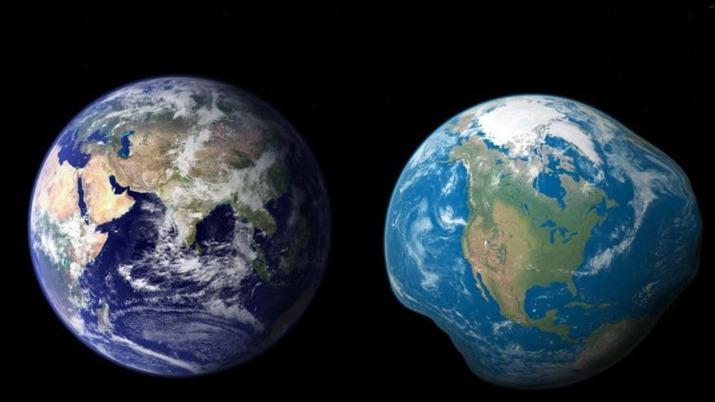 Круглая Земля — миф