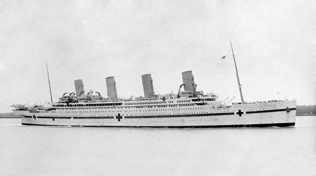 «Британик» во время Первой мировой войны