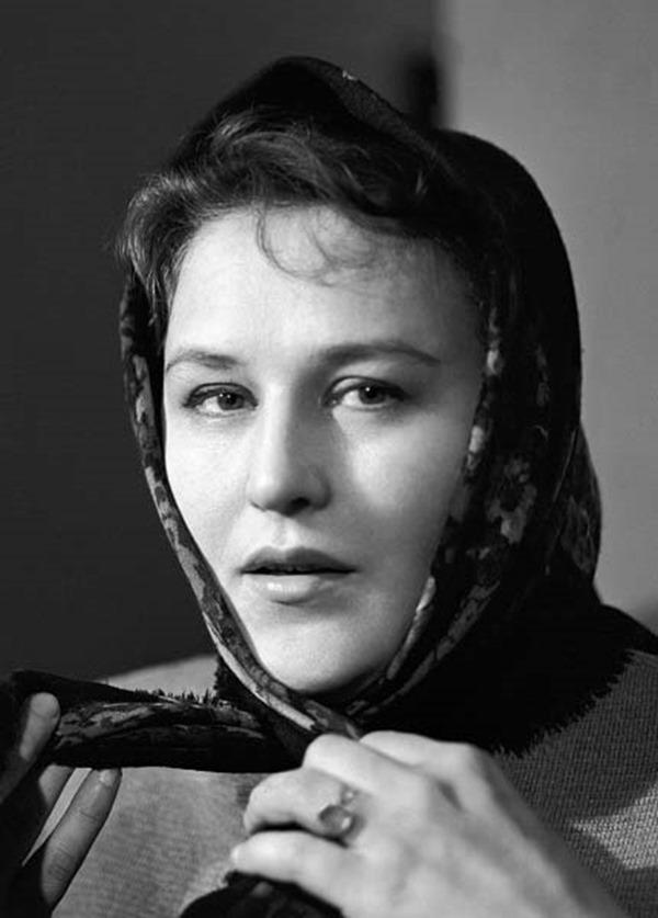 Киноактриса Нонна Мордюкова, 1965 год