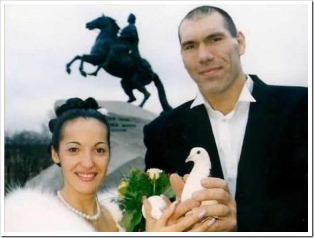 Свадьба Николая Валуева