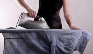 правильно гладить рубашки